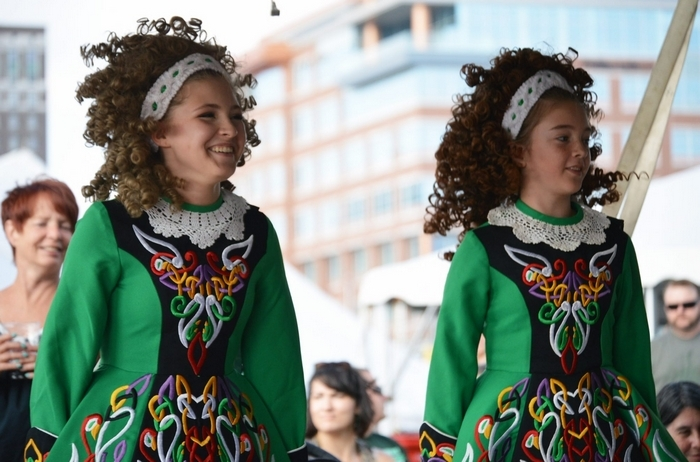 From Irish dance wigs to Guinness beer to the occasional kilt, Irish culture was proudly celebrated Saturday at the Buffalo Irish Festival. Canalside reverberated with three stages of music, including an energized show from world-champion musicians Beoga. Local Irish dance schools Rince na Tiarna and Clann na Cara sailed through routines, too. Photos taken on Aug. 23, 2014. (Cody Osborne / Special to the News)