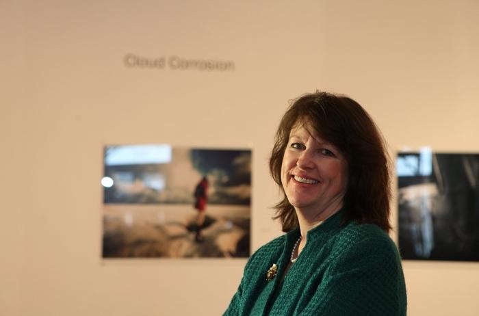 Mary Simpson was the Carnegie Art Center's last employee. (Sharon Cantillon/Buffalo News file photo)