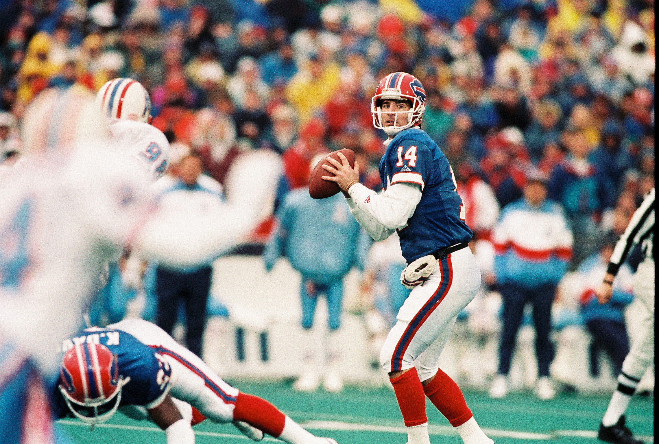 How about some Wall of Fame consideration for Frank Reich? (James P. McCoy / Buffalo News)