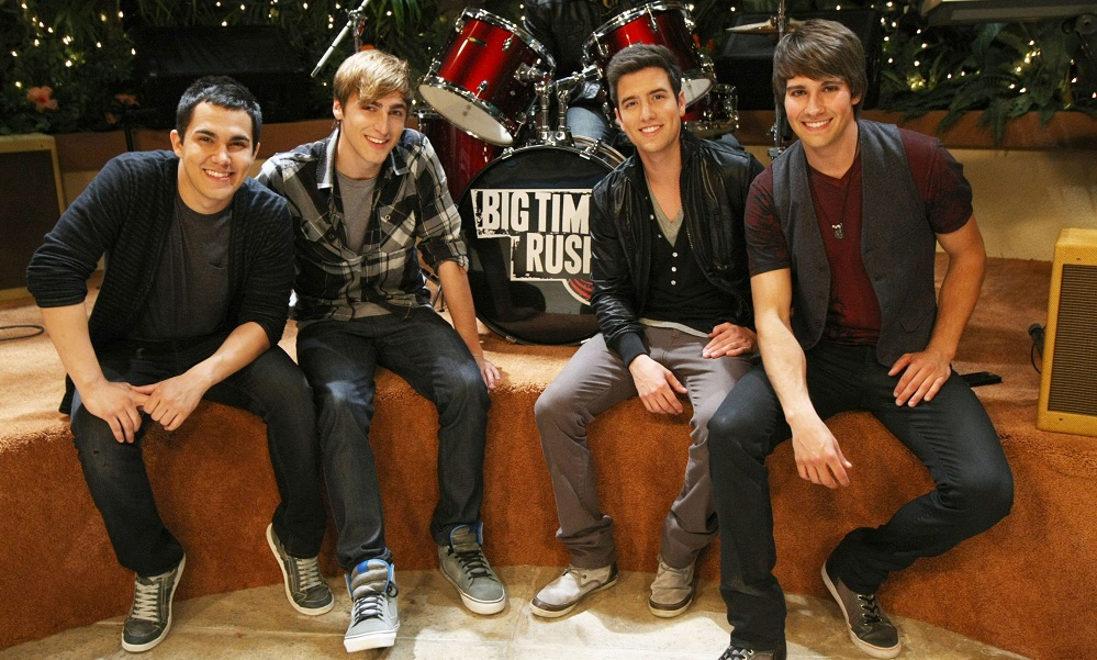 Big Time Rush is one of the popular bands made for TV.  (PRNewsFoto/Nickelodeon, Robert Voets)