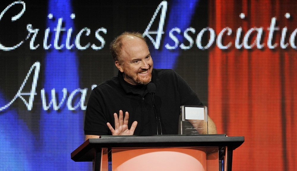 Pergament has a hunch that Louis C.K. will win Comedy/Best Actor, but that's just a hunch. (Associated Press)
