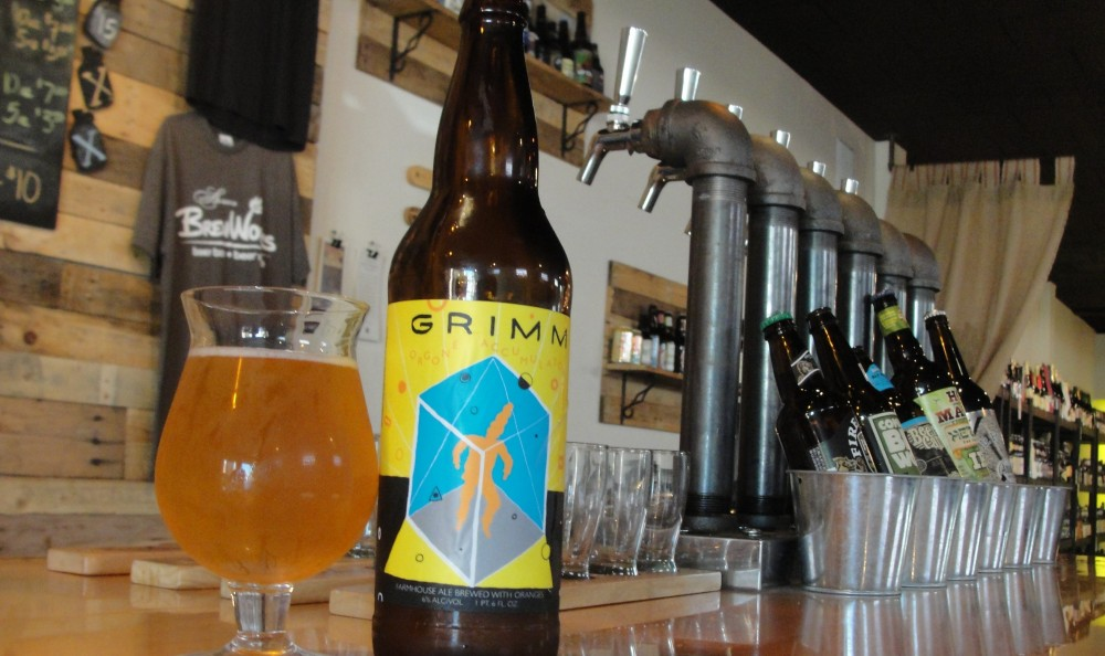 The Orgone Accumulator from Grimm Artisanal Ales, available at Aurora Brew Works. (Matt Kresconko / Special to the News)