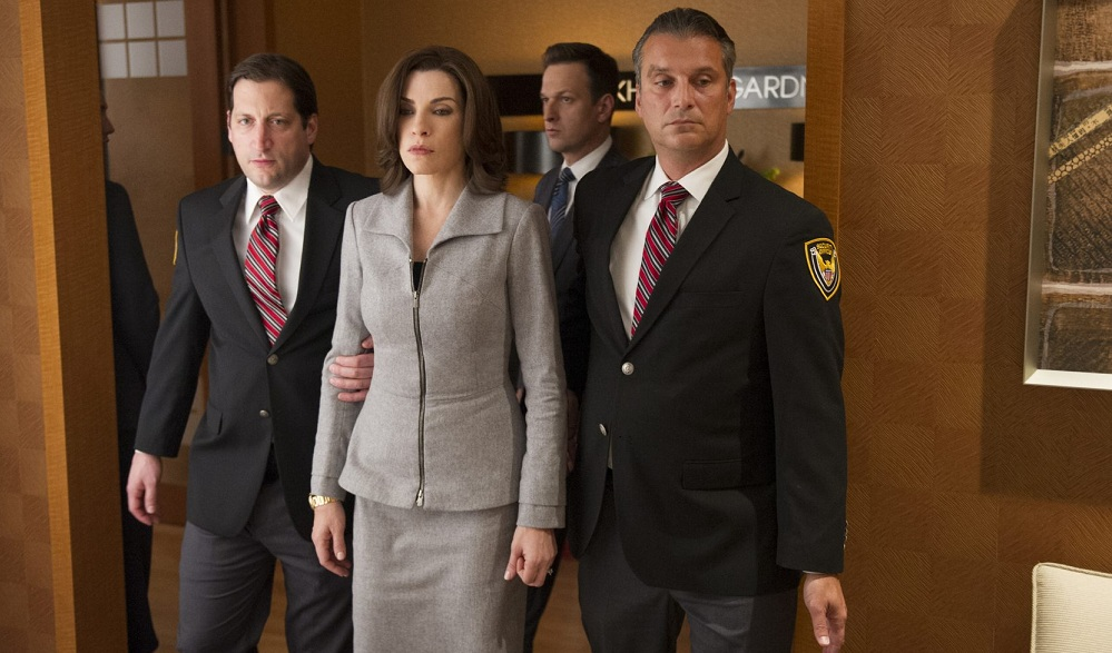 """Actress Julianna Margulies plays the role of Alicia Florrick in """"The Good Wife."""" (David Russell / CBS Broadcasting)"""