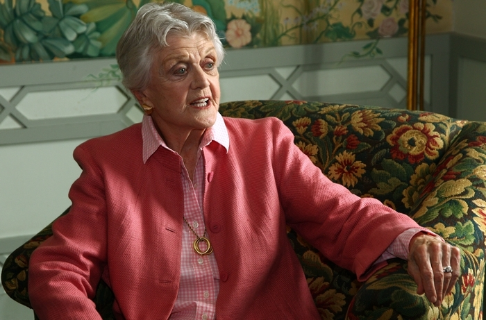 """When Angela Lansbury goes on the road with """"Blithe Spirit"""" in December, she will be one of the few high-profile stars to tour with a show. (Associated Press)"""