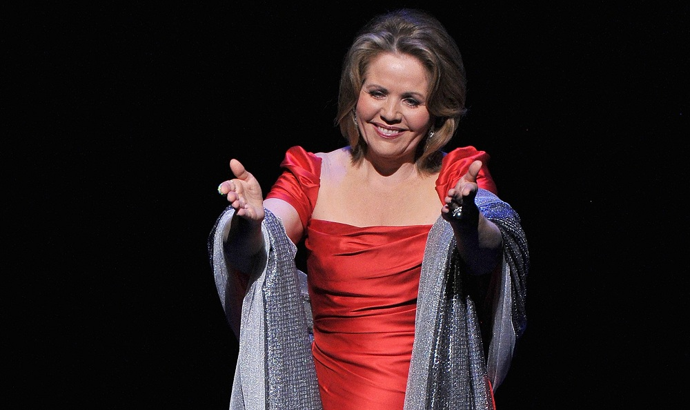 Renee Fleming performed Saturday with the Buffalo Philharmonic at Kleinhans. (Getty Images)