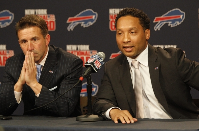 Bills President Russ Brandon and General Manager Doug Whaley are always under pressure to win.