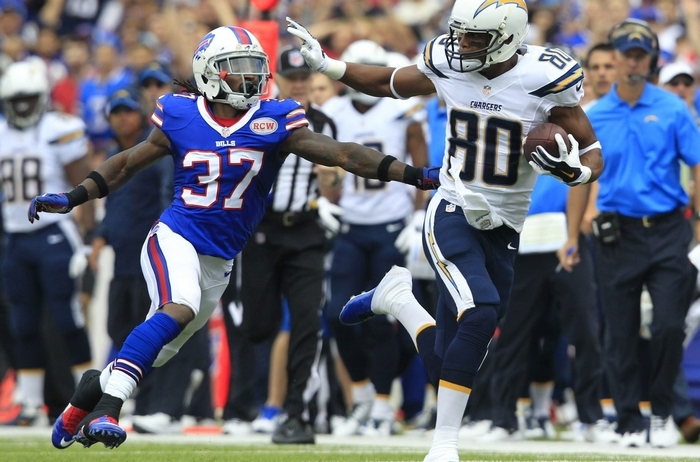 Rub tactics worked to perfection when San Diego Chargers wide receiver Malcom Floyd torched the Bills secondary last Sunday. (Harry Scull Jr./Buffalo News)