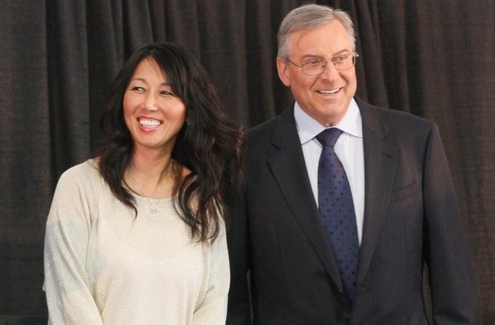 Kim and Terry Pegula. (Mark Mulville/News file photo)