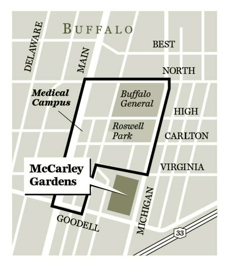 graphic map for McCarley Gardens