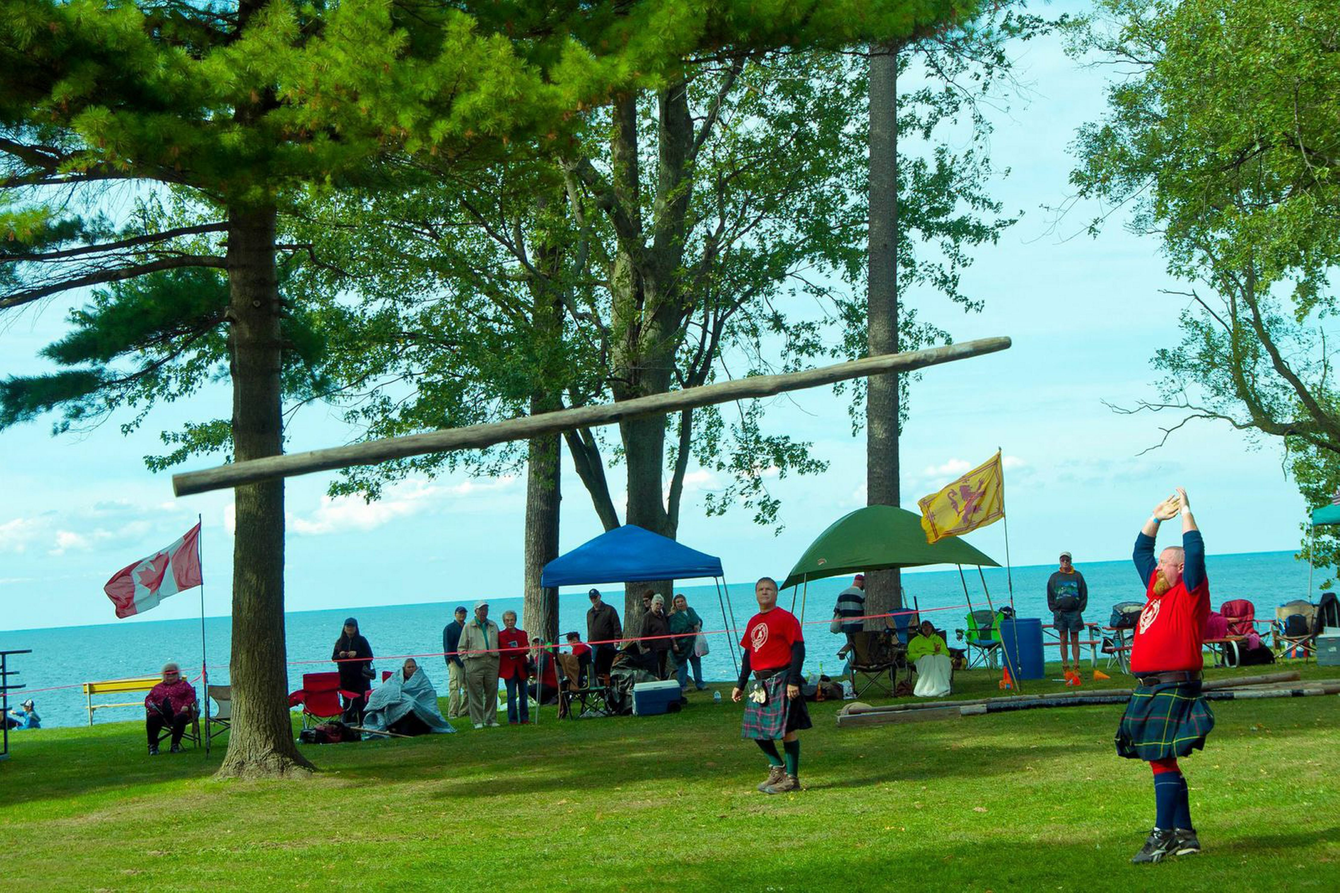This scene, and many others, will be repeated in Krull Park during the Niagara Celtic Heritage Festival.