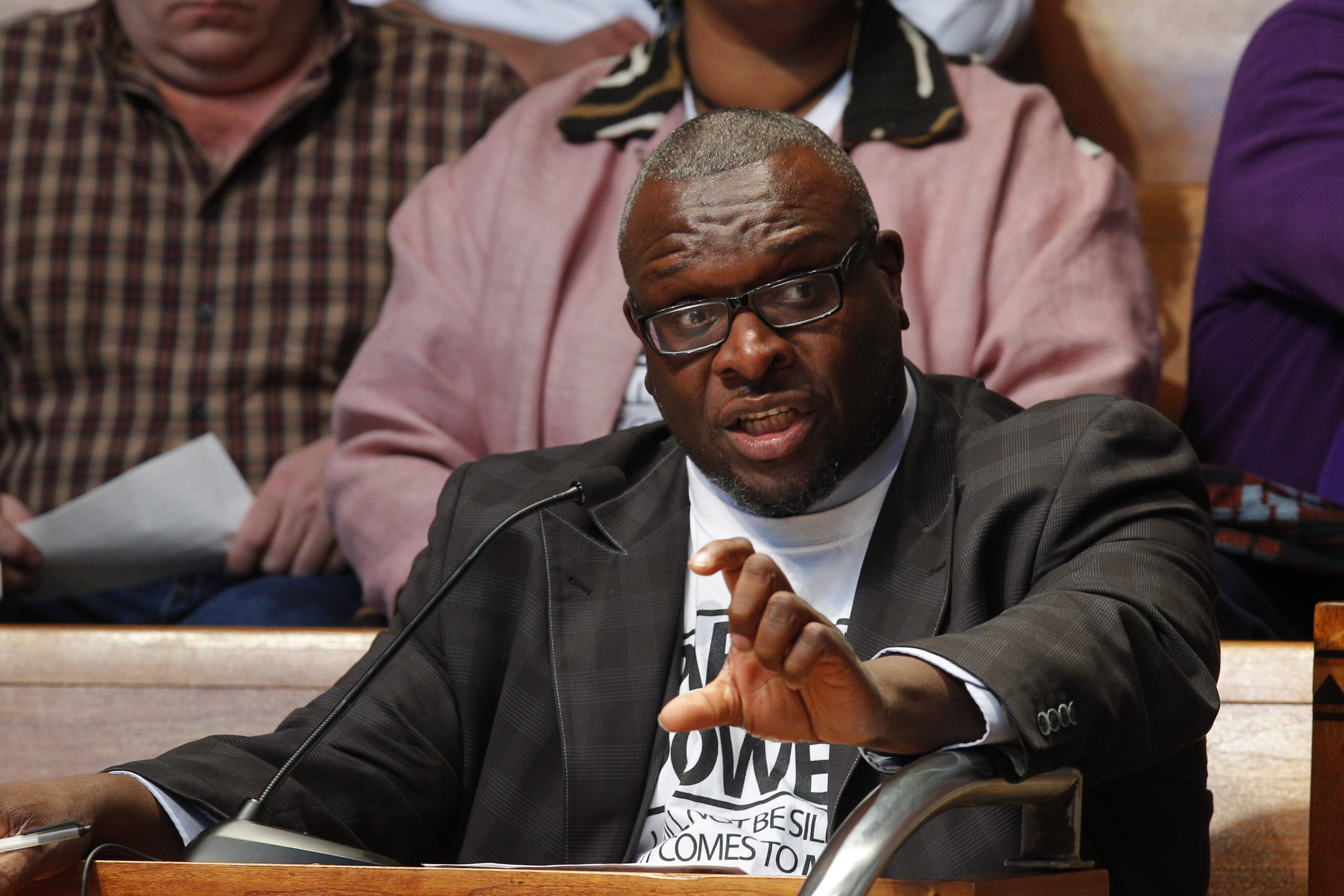 Samuel Radford III, president of the District Parent Coordinating Council, is one of the leaders advocating a return to neighborhood schools. (Buffalo News file photo)