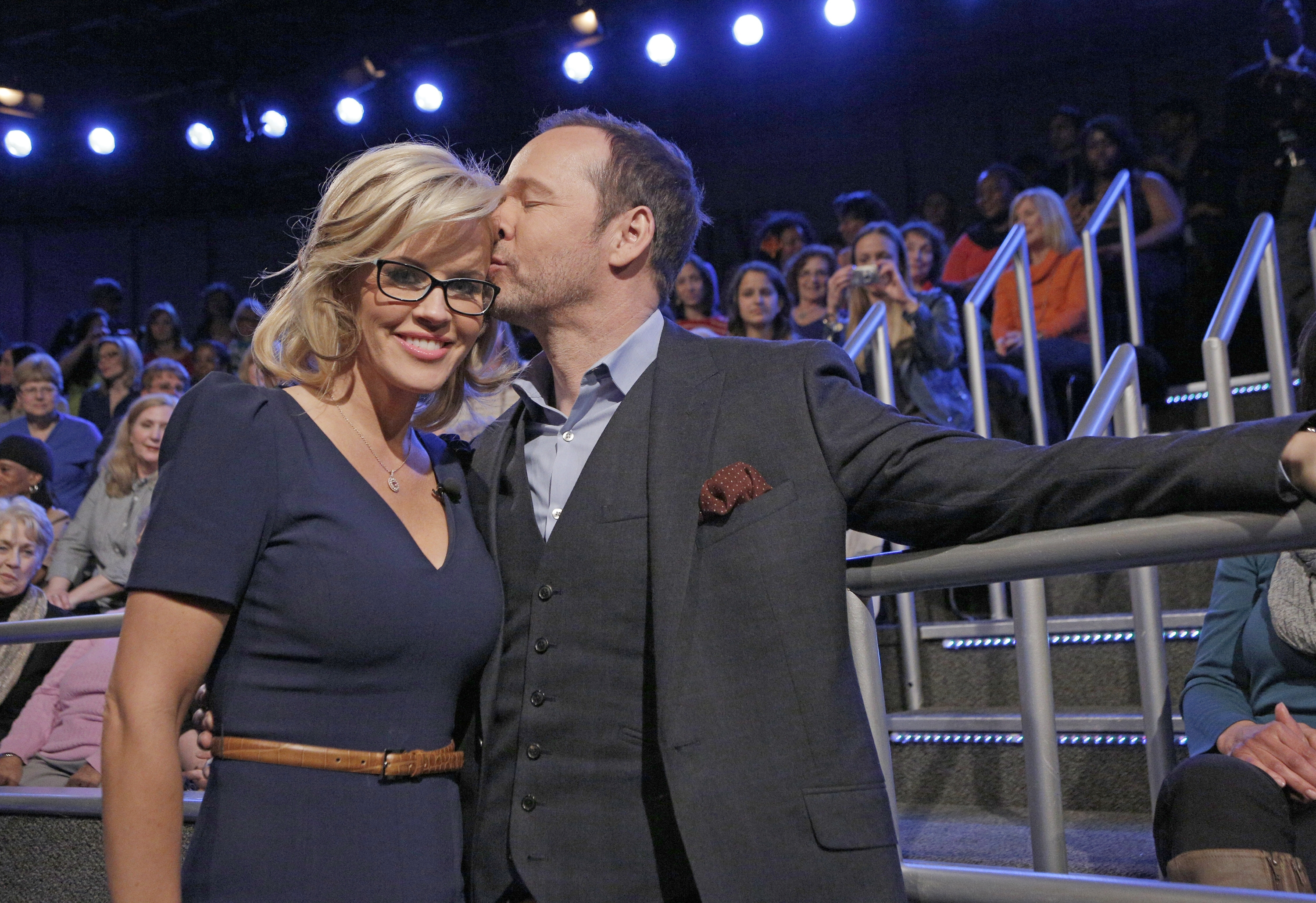 Jenny McCarthy and Donnie Wahlberg tied the knot  Sunday in a ceremony outside Chicago.