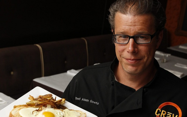 Adam Goetz, chef of Craving at 1472 Hertel Ave., works closely with local farms. (Sharon Cantillon/Buffalo News file photo)
