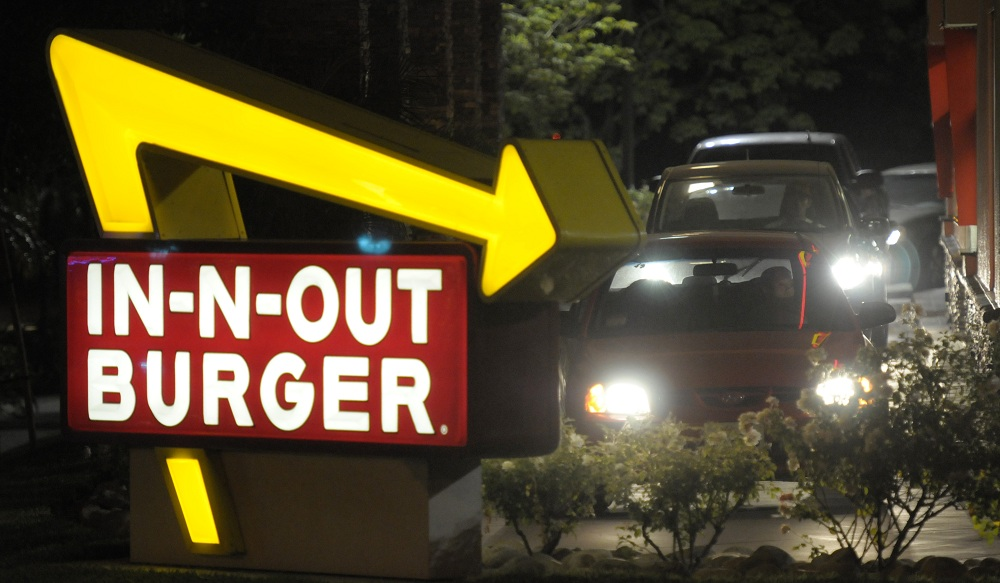 A one-day-only In-N-Out Burger will pop up in Toronto, a reasonable trip for Buffalonians. (Associated Press)