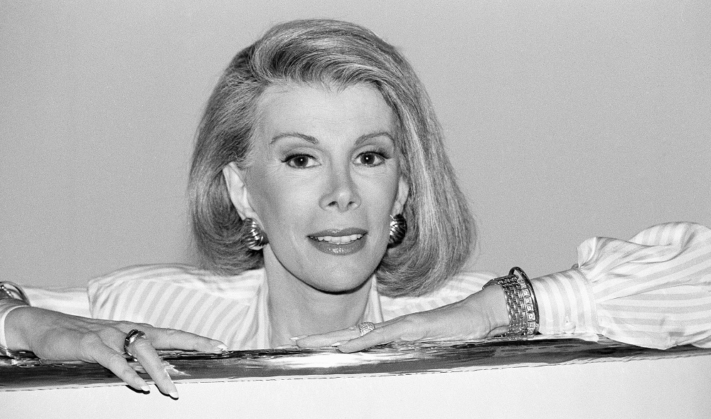Late comedian Joan Rivers had a thoughtful response to Jeff Simon's flattering review. (Associated Press)