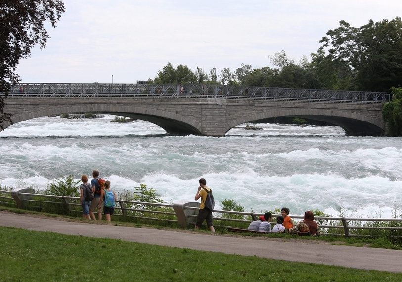 Two pedestrian bridges in Niagara Falls State Park are slated for repairs or to be replaced. (Charles Lewis/Buffalo News file photo)