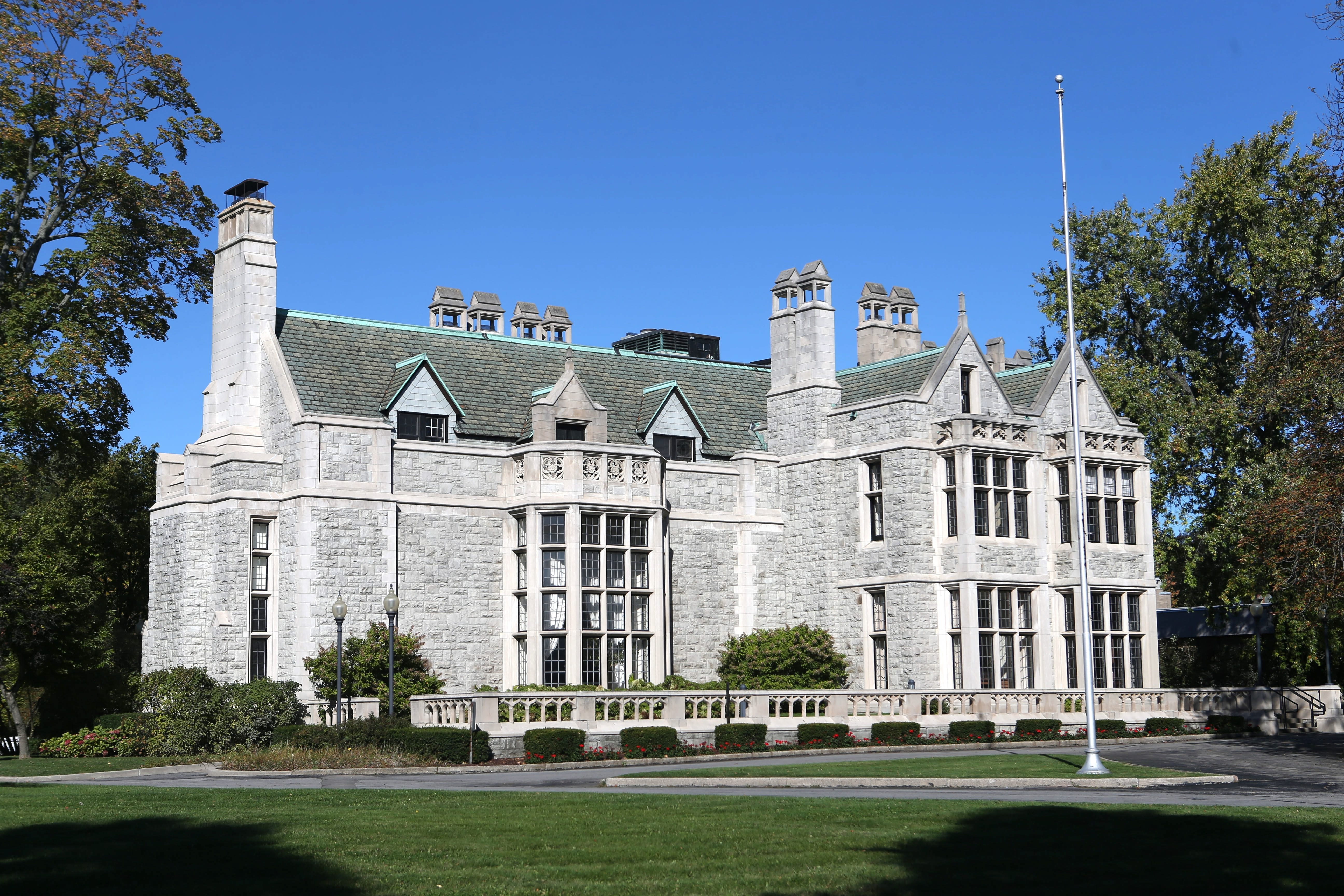 Chris Jacobs wants to see the Red Cross move its headquarters from the Clement Mansion on Delaware Avenue to an underused location on the East Side. (Buffalo News file photo)