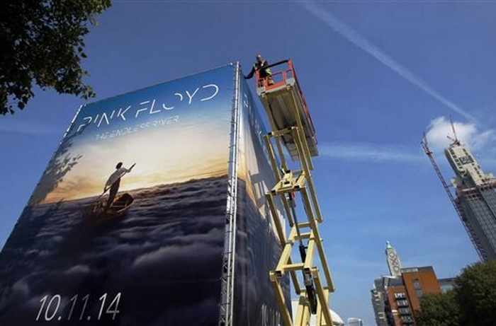 """Pink Floyd's first album in 20 years, """"The Endless River,"""" is out today."""