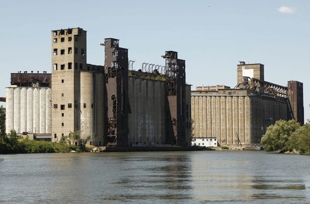 Explore Buffalo leads you to the top of two of Buffalo's numerous grain elevators. (Derek Gee/Buffalo News file photo)