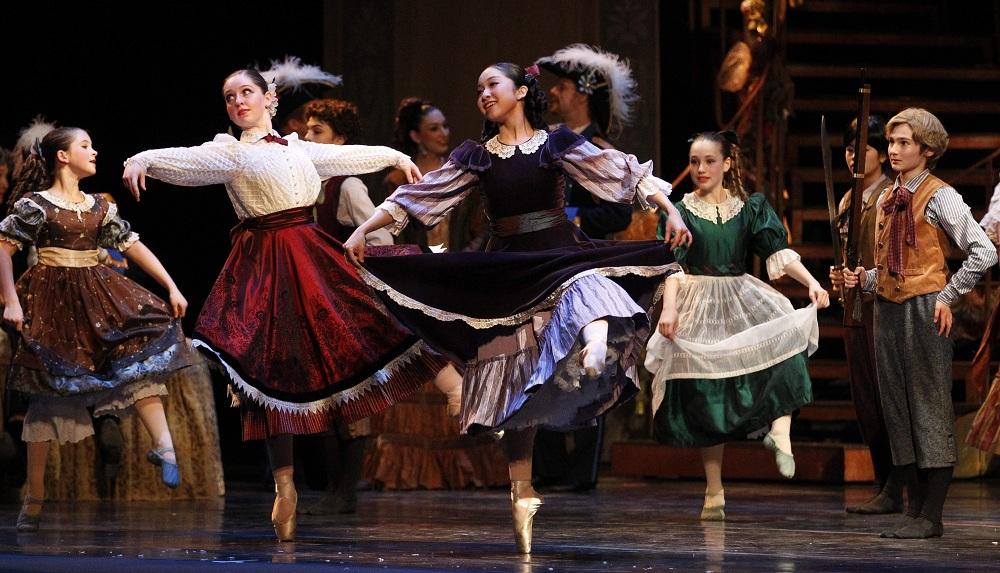 "Neglia Ballet presented the holiday classic ""The Nutcracker"" at Shea's Peforming Arts Center on Saturday night. (Sharon Cantillon/Buffalo News)"