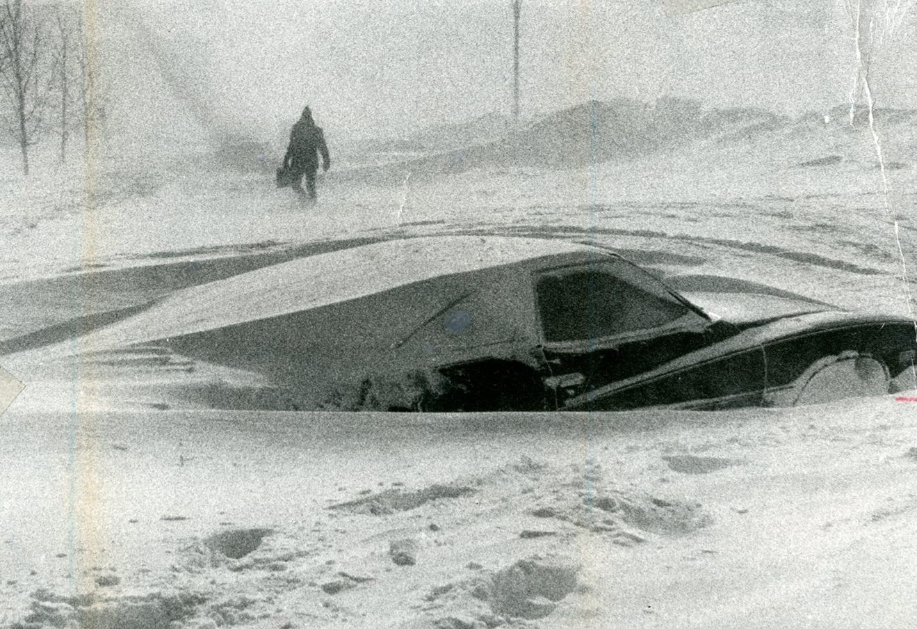 The Blizzard of '77.