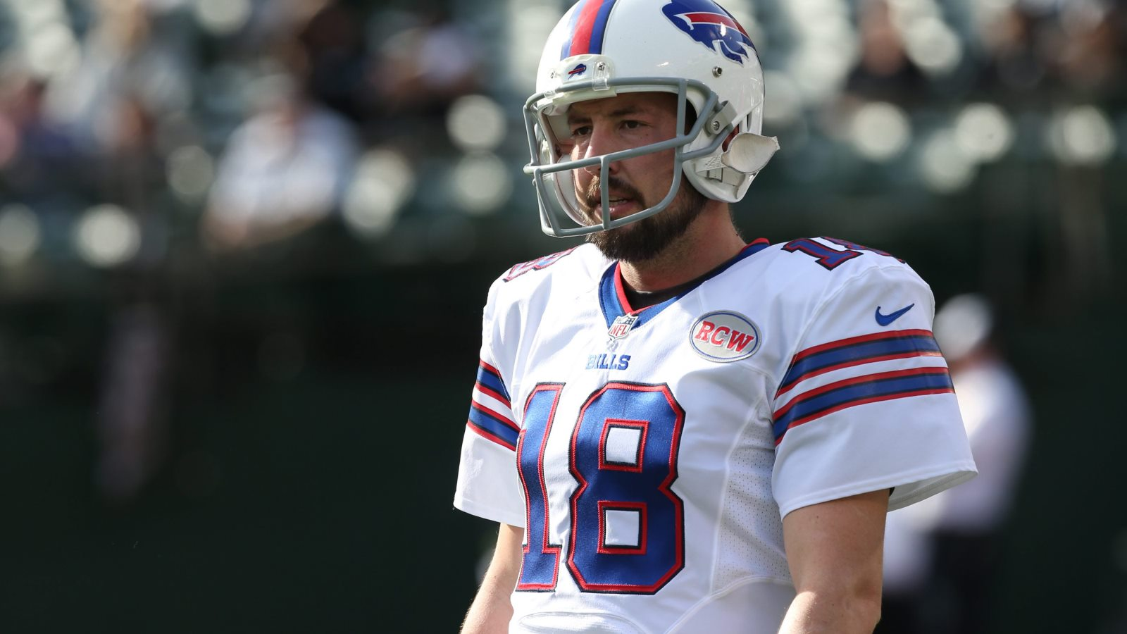 Kyle Orton went 7-5 as the Bills' starting quarterback after taking over for EJ Manuel. (James P. McCoy/Buffalo News)