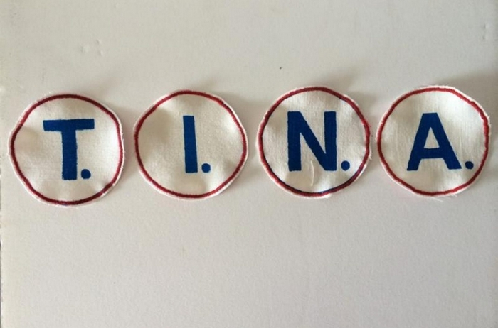 "Tina Dillman's exhibition ""San Fran Buff Non Stop"" opens Friday in Big Orbit Gallery."
