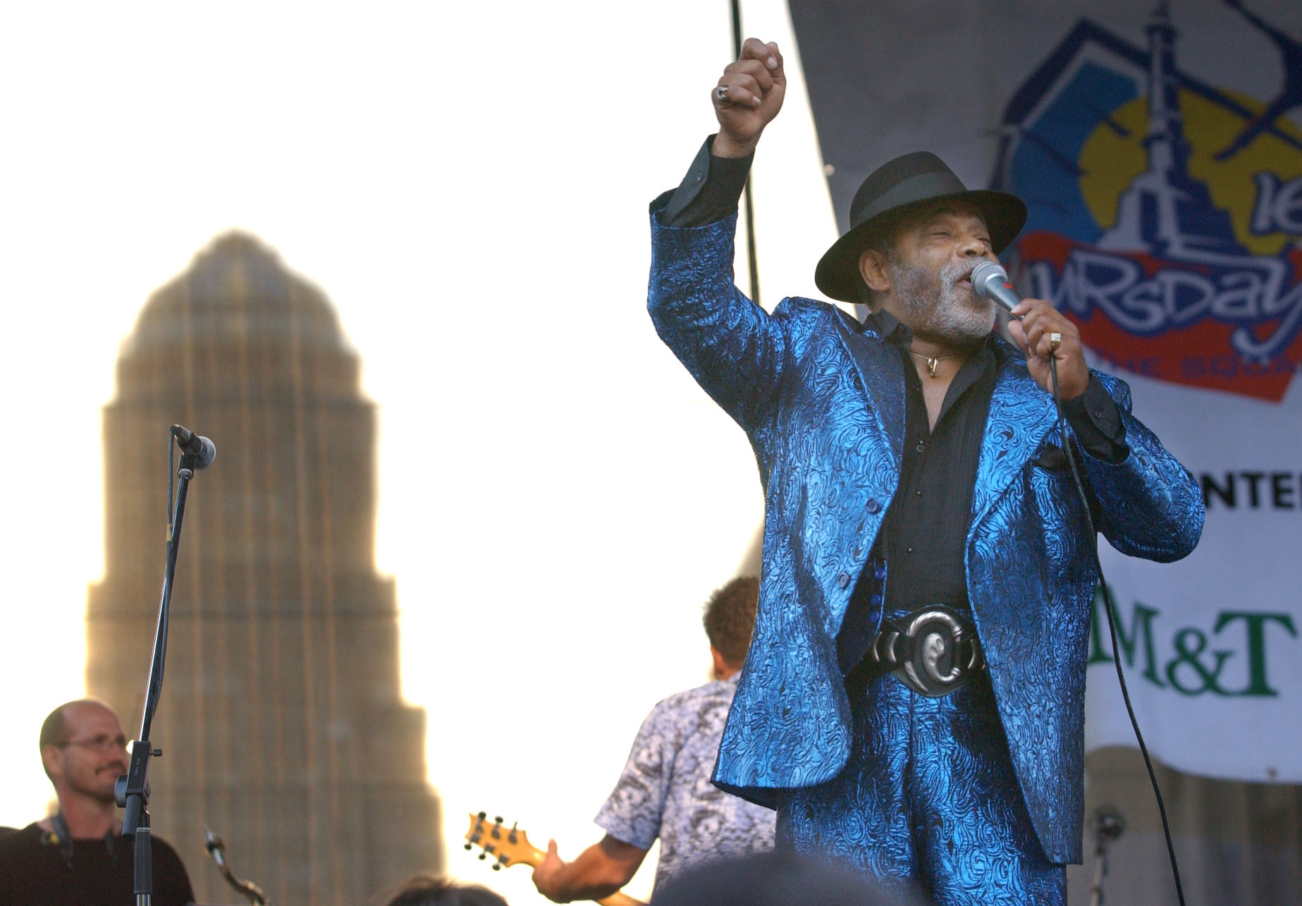 Lance Diamond performs at Thursday in the Square in 2002. (Sharon Cantillon/Buffalo News file photo)