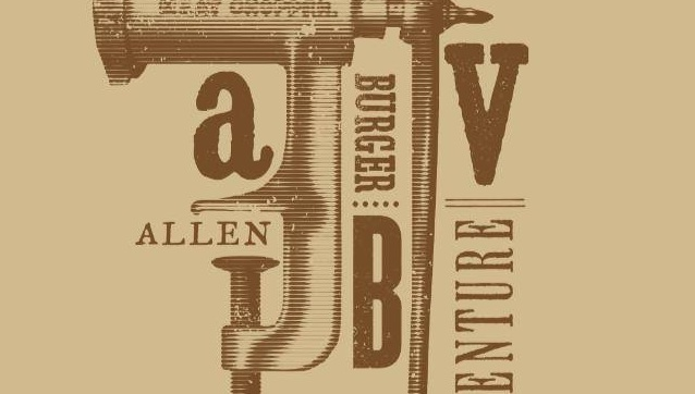 Logo for Allen Burger Venture, abbreviated as A.B.V.