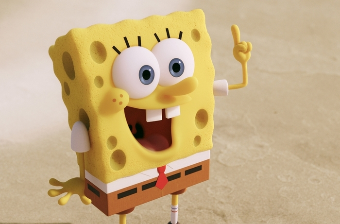 "SpongeBob SquarePants gets his own movie in ""The SpongeBob Movie: Sponge Out of Water."""