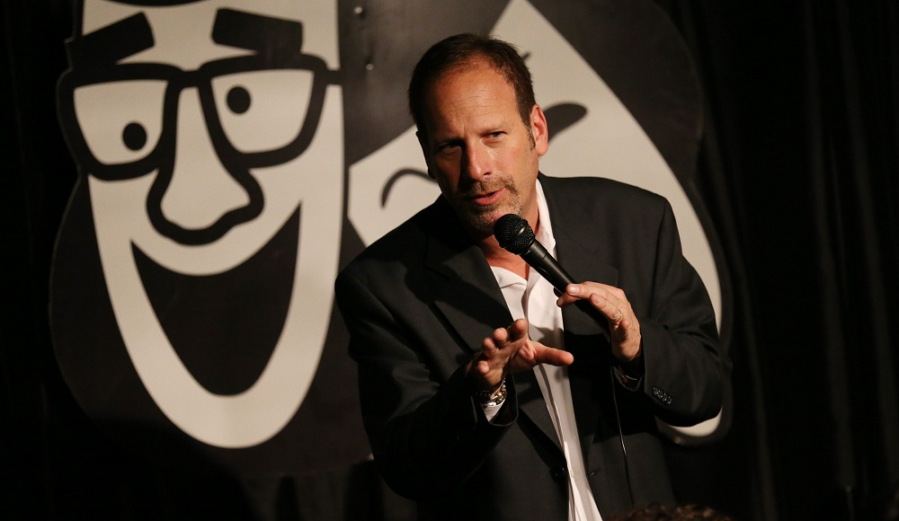 Rob Lederman performing at his Williamsville club, Rob's Comedy Playhouse. (Sharon Cantillon/Buffalo News file photo)