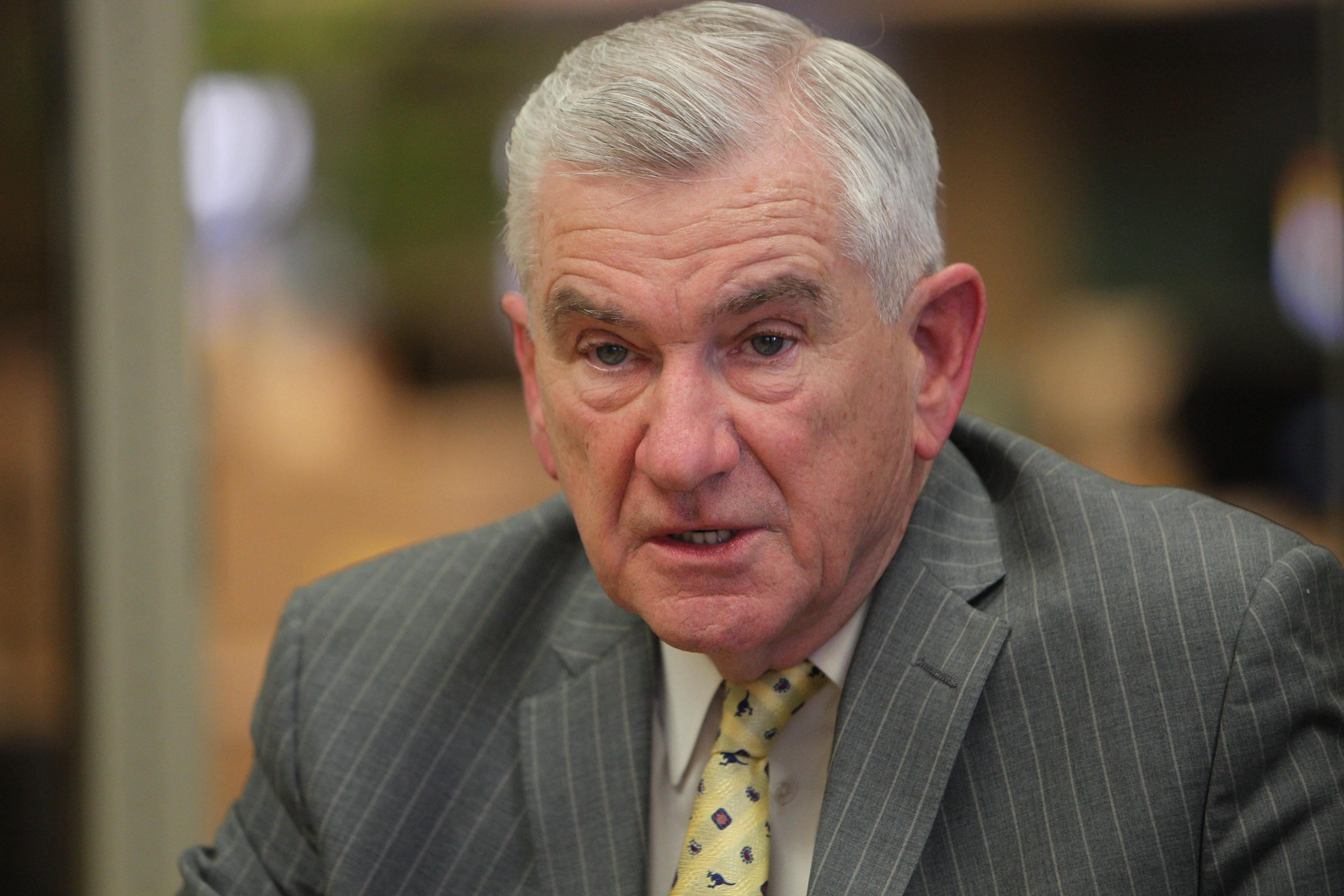 For all of his 20 years on the Board of Regents, Robert M. Bennett was a dedicated champion for students. (Sharon Cantillon/Buffalo News file photo)