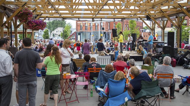 The new season of the Live at Larkin summer concert series will be announced May 4 with a happy hour party. (Don Nieman/file photo)