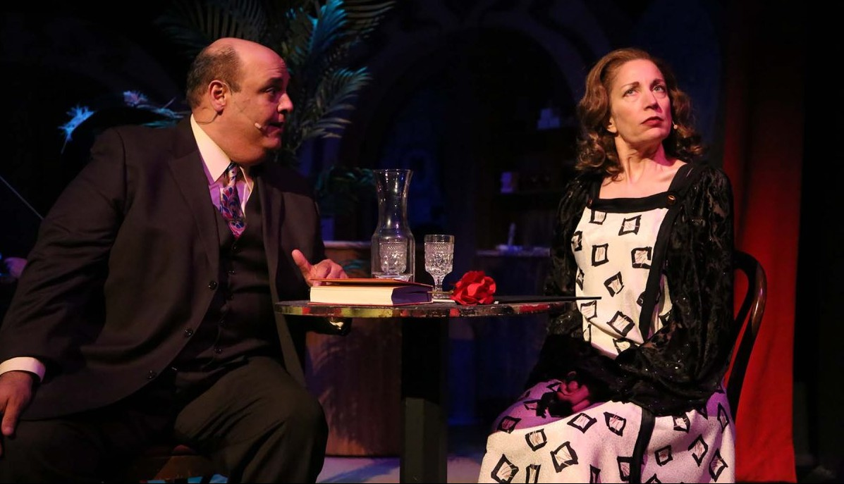 """Norm Sham and Debbie Pappas star in """"She Loves Me."""""""