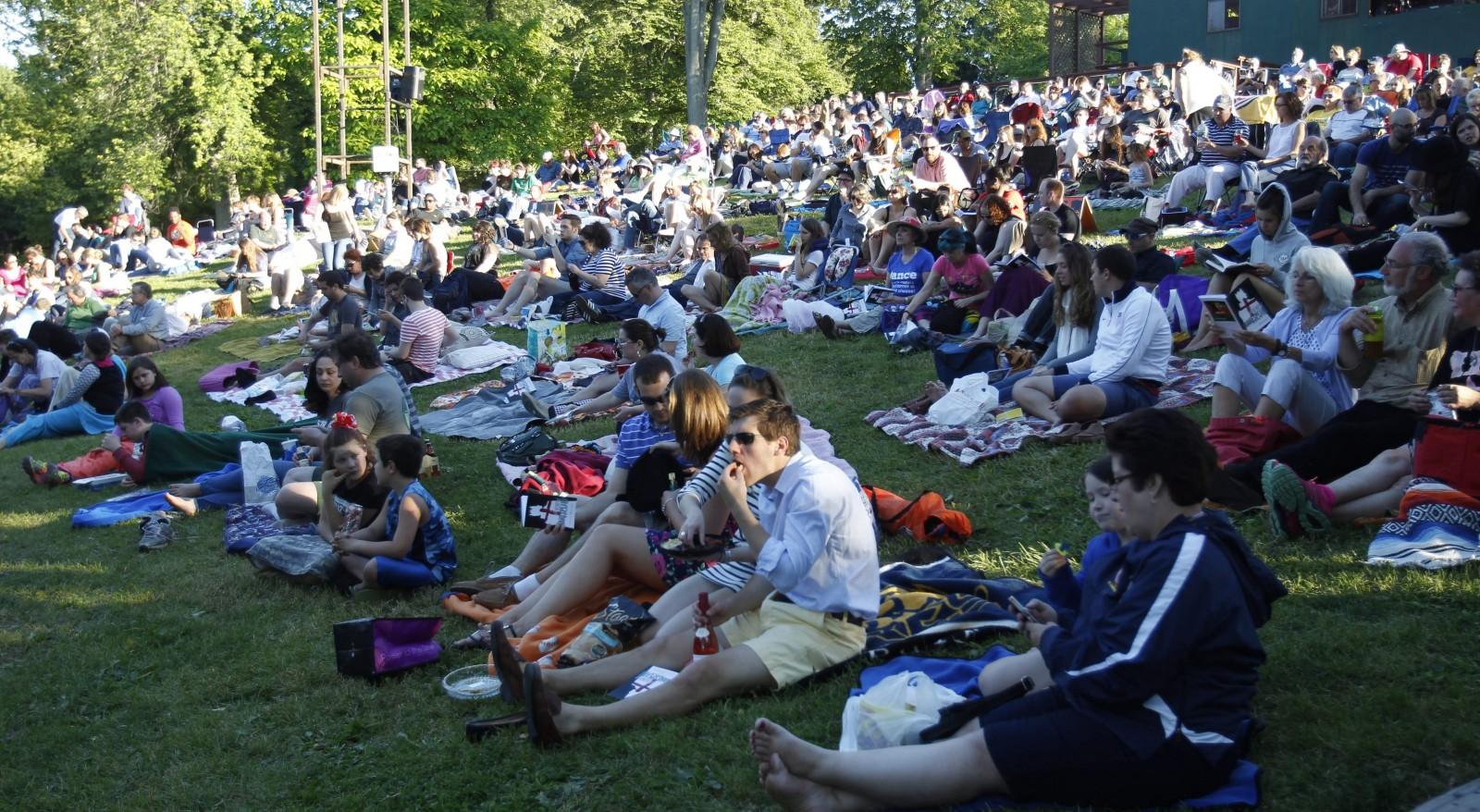 The 40th season of Shakespeare in the Park begins June 18. (Sharon Cantillon/Buffalo News file photo)