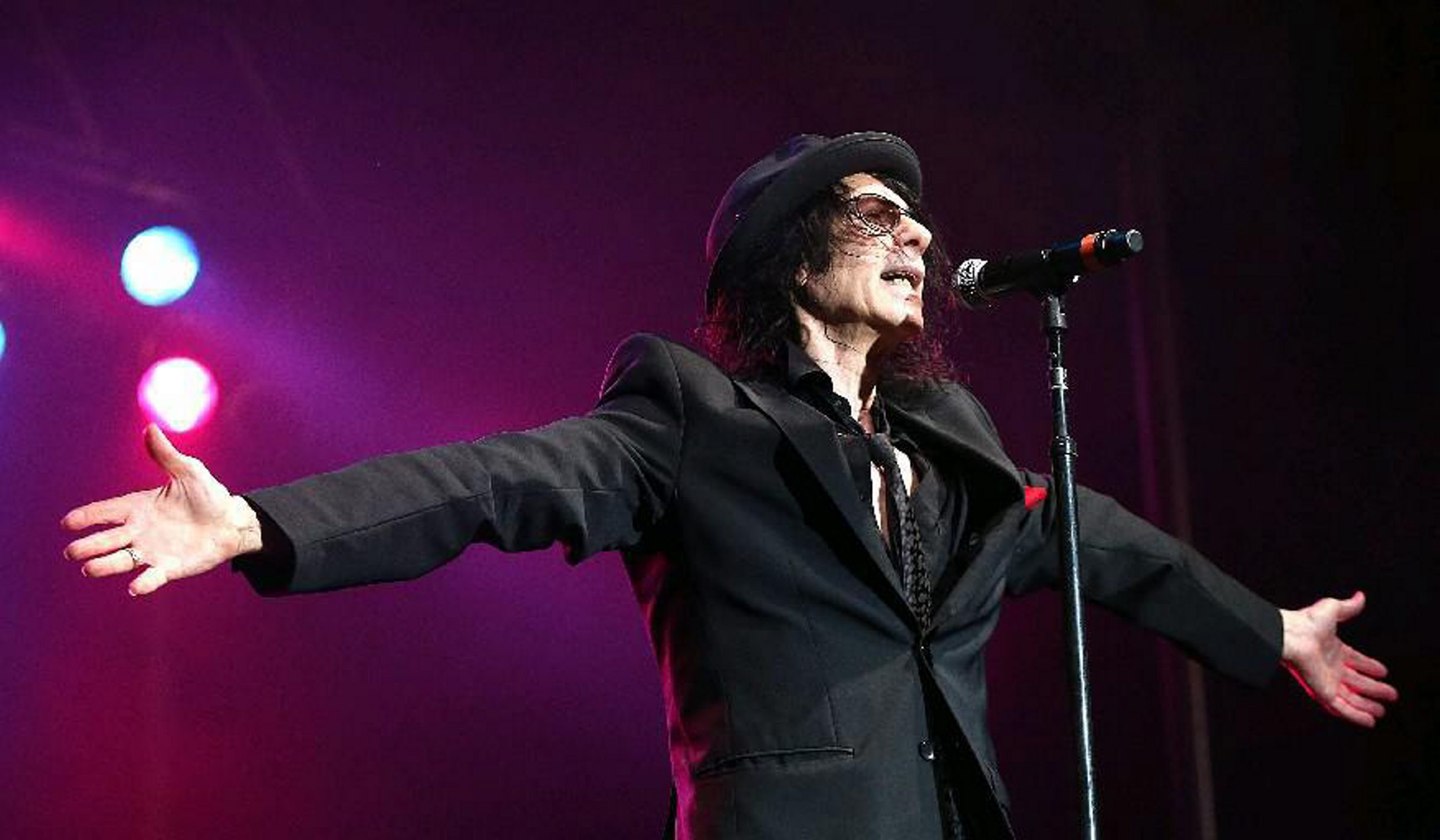 Peter Wolf and the J. Geils Band will close out the Artpark Tuesdays in the Park series on Sept. 8. (Robert Kirkham/News file photo)