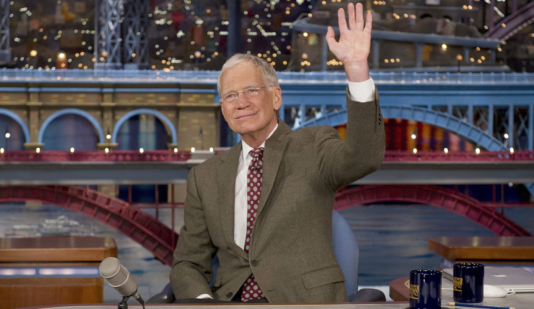 """After more than 33 years as a staple on late-night television, David Letterman's final """"Late Show"""" will air at 11:35 Wednesday night on CBS.  CBS Broadcasting Inc."""