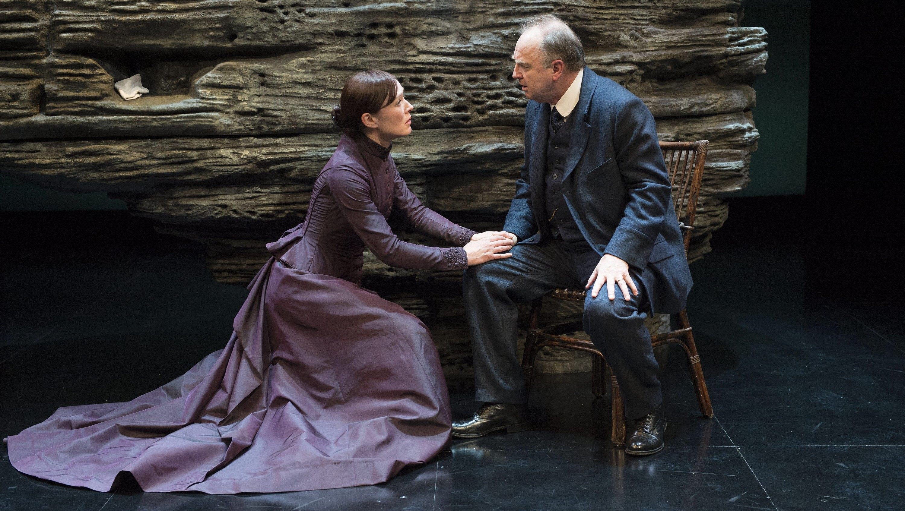 Moya O'Connell and Ric Reid star in the Shaw Festival's production of Henrik Ibsen's play 'The Lady from the Sea.'