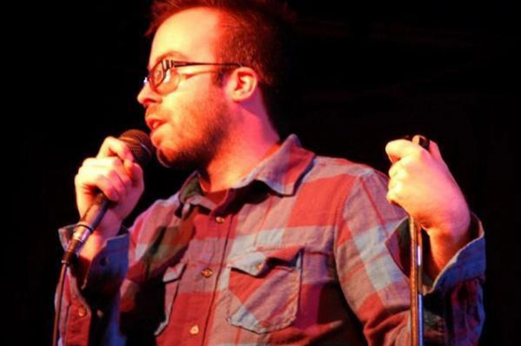 Josh Potter is ready to take his comedy act on the road.