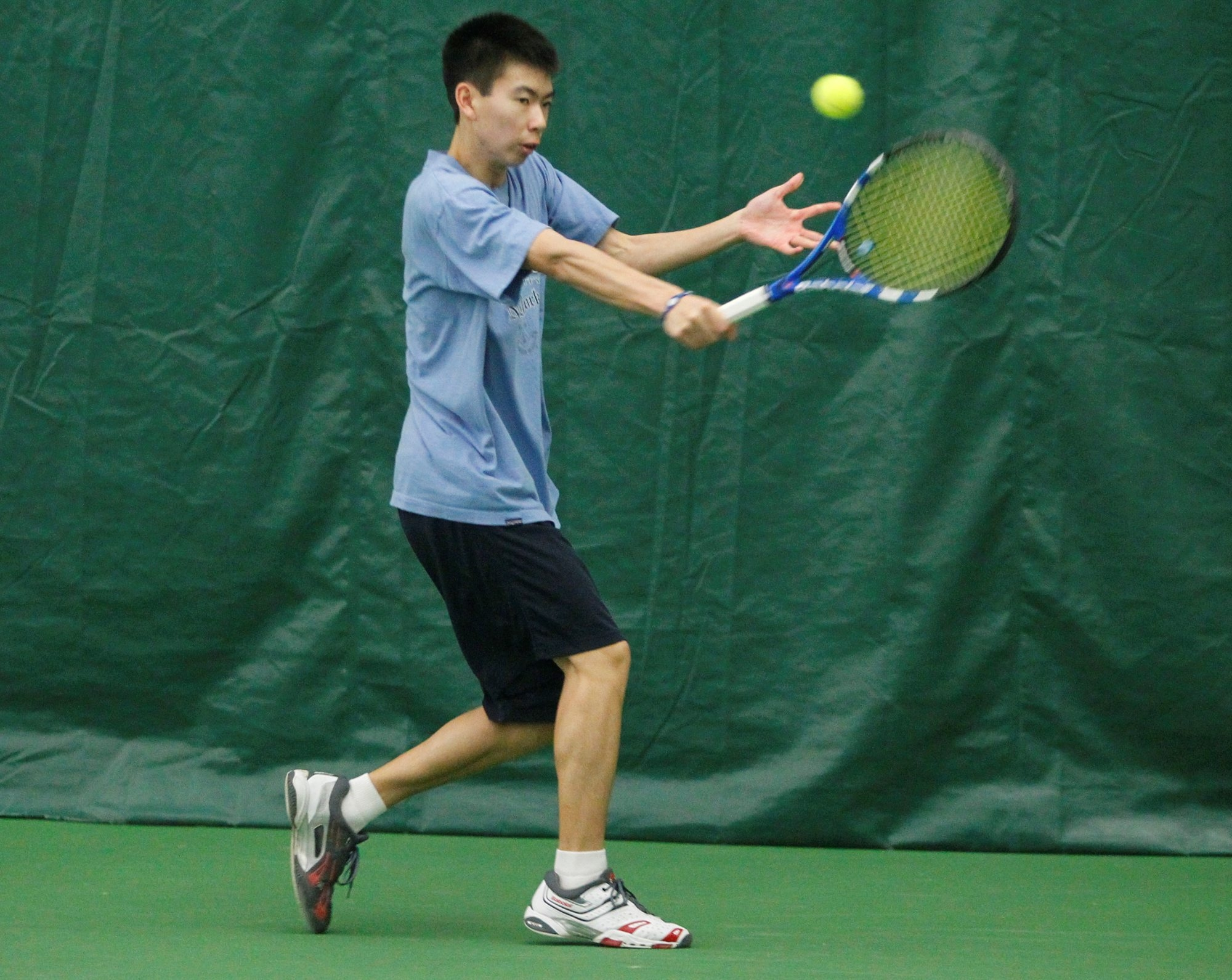 Winston Lin is one of the fine young players who will be competing in the USTA Men's Future Pro Circuit event in Williamsville.