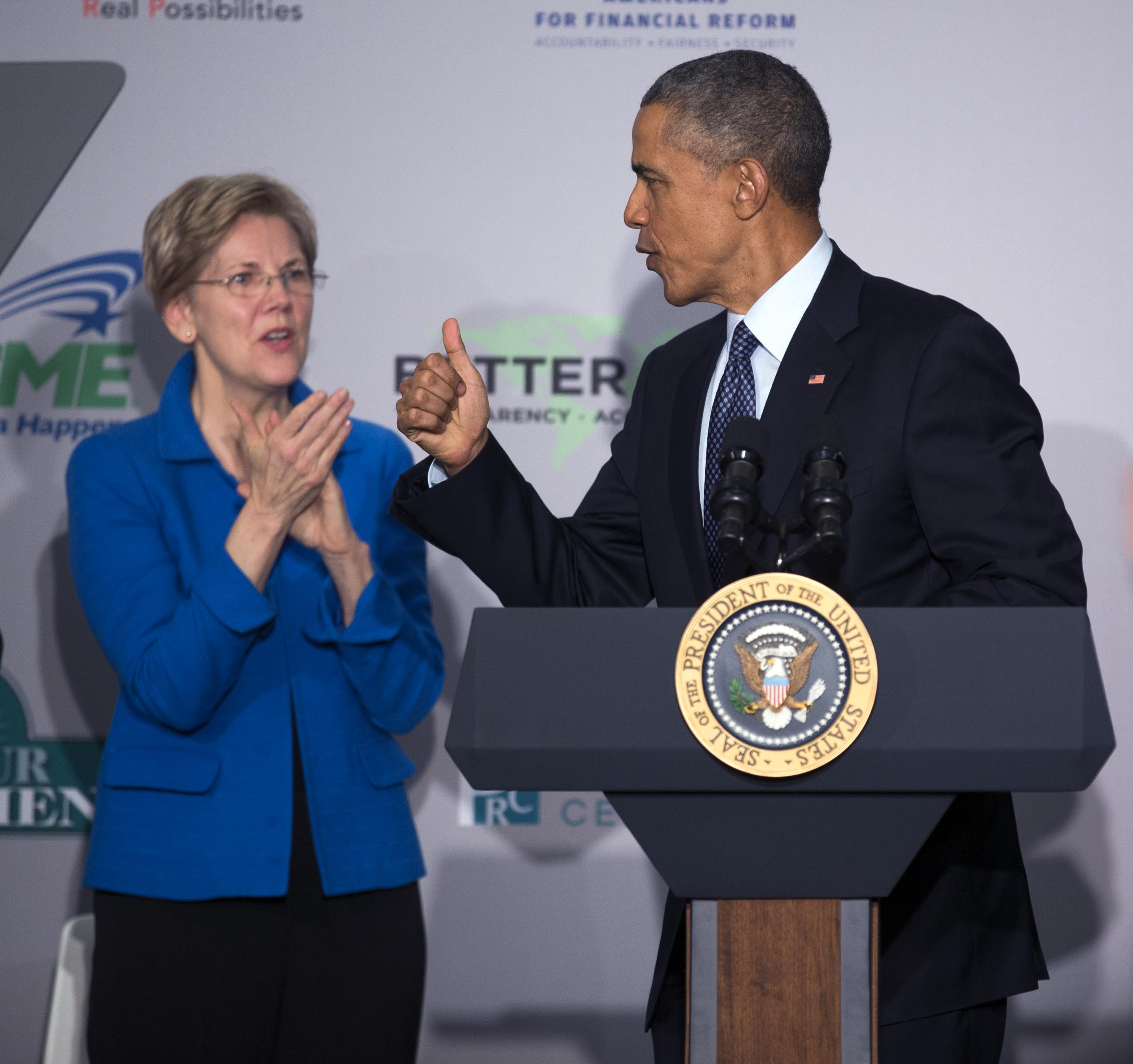 President Barack Obama and Sen. Elizabeth Warren, D-Mass., have argued over the fast-track bill that the president wants. Democrats should approve the measure for the country's long-term benefit.