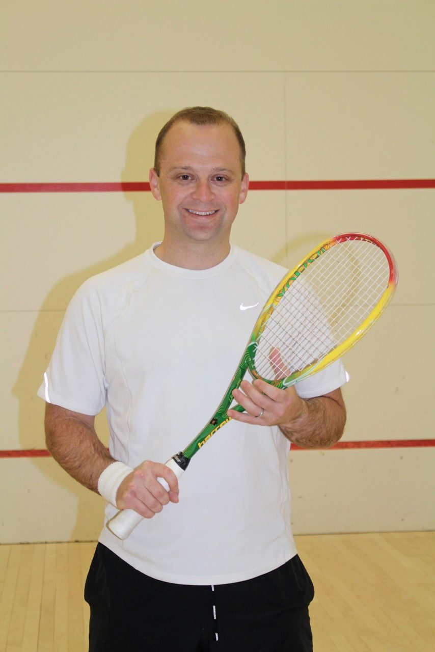 Craig Rappaport is a new Buffalo Squash Racquets Association Hall of Fame member.