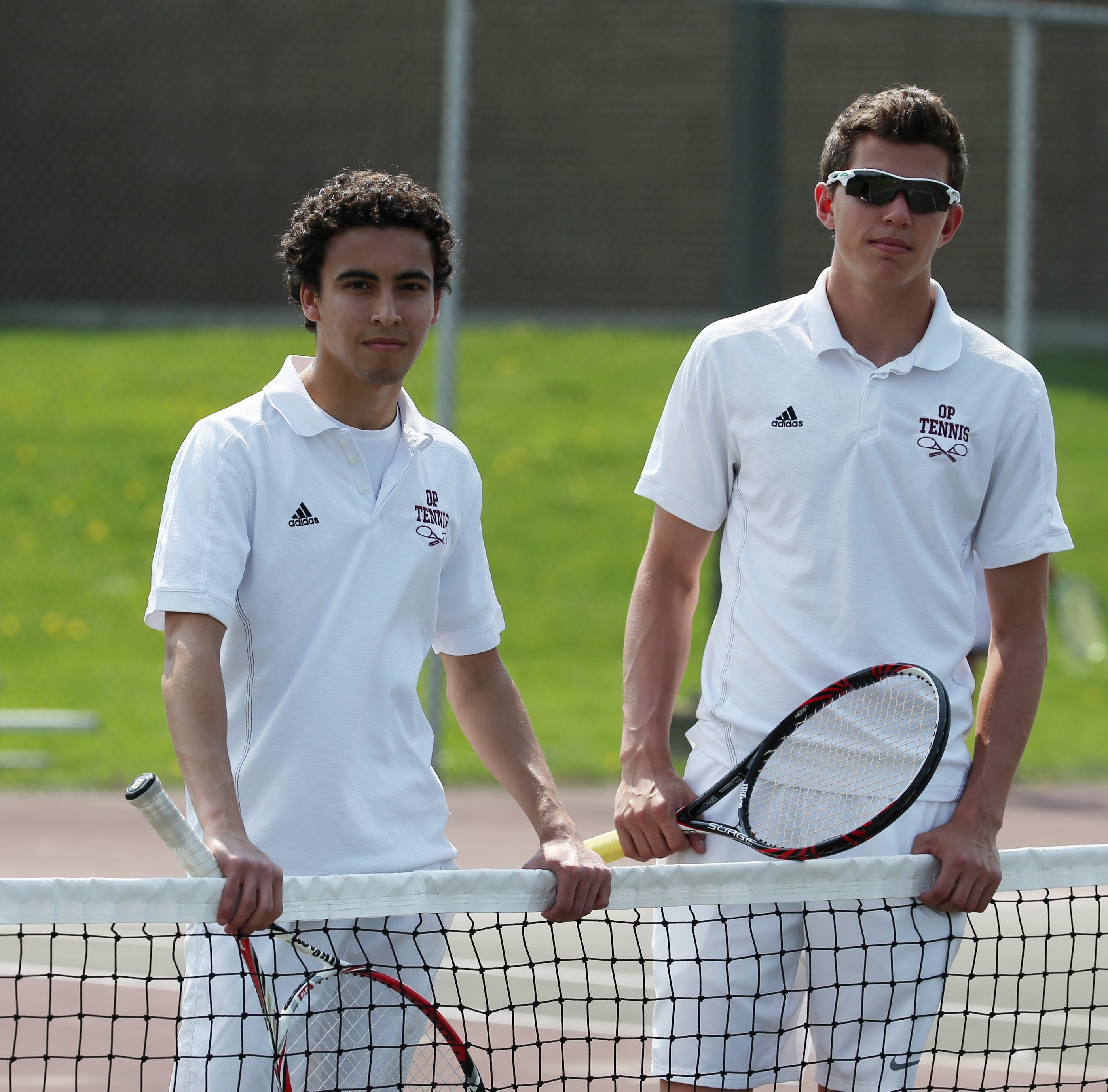 Zander Korach and Dan Freilicher missed out on a trip to the state tournament last season, falling to Bryce and Jack Payne of Panama. They have set their sights on reaching states this season.