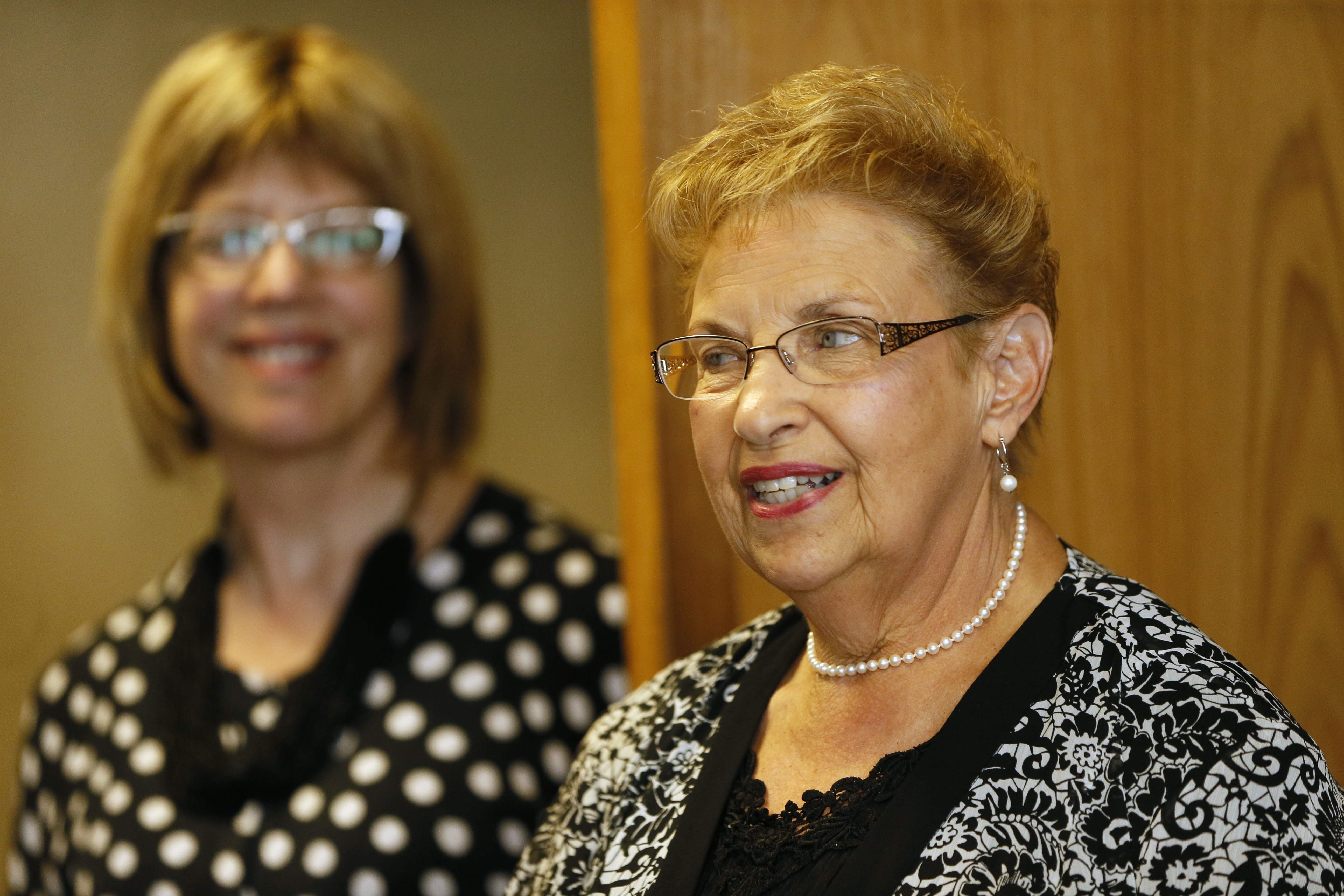 """Rose Marie """"Ro"""" Hall says she appreciates the honor of being named Erie County's """"Senior of the Year"""" at an event in the county executive's office at the Rath Building on Wednesday."""