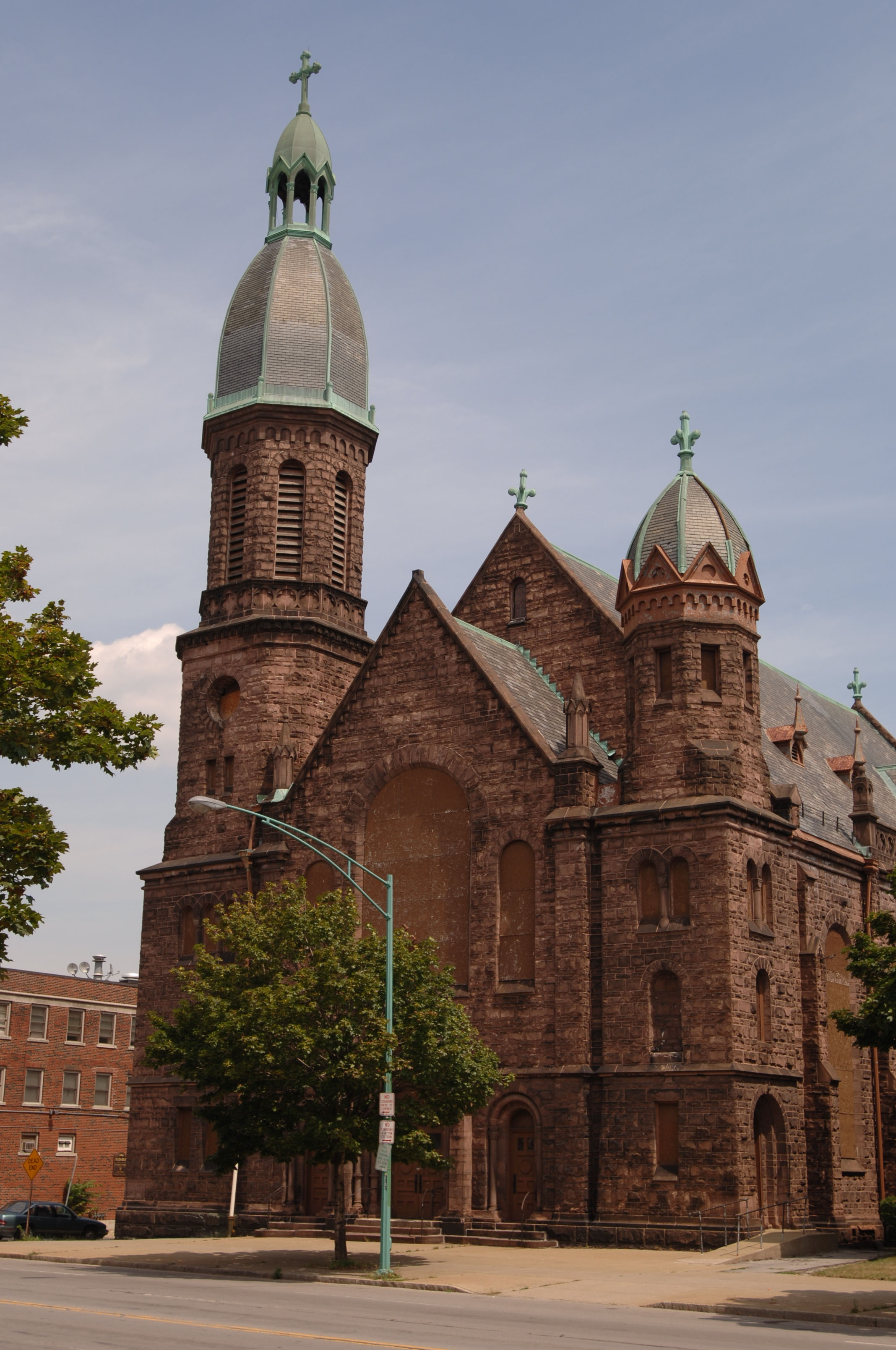 Our Lady of Lourdes Church built in 1850 on Main Street near Best Street is slated to become apartments.