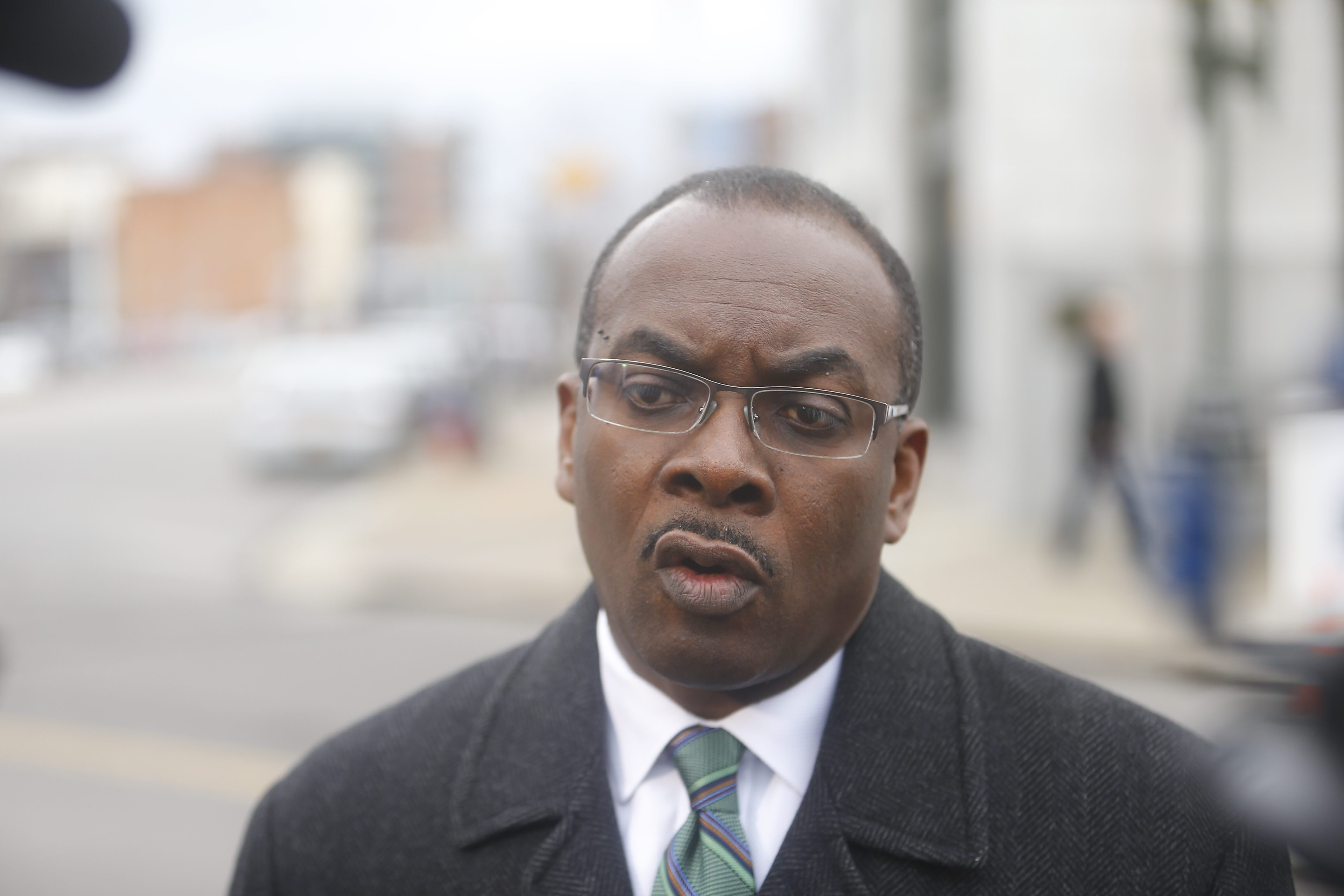 Despite Mayor Byron W. Brown's expressed willingness to assume control of the troubled Buffalo Public Schools, the city is not giving the district any more money to work with in 2015-16.  (John Hickey/Buffalo News)