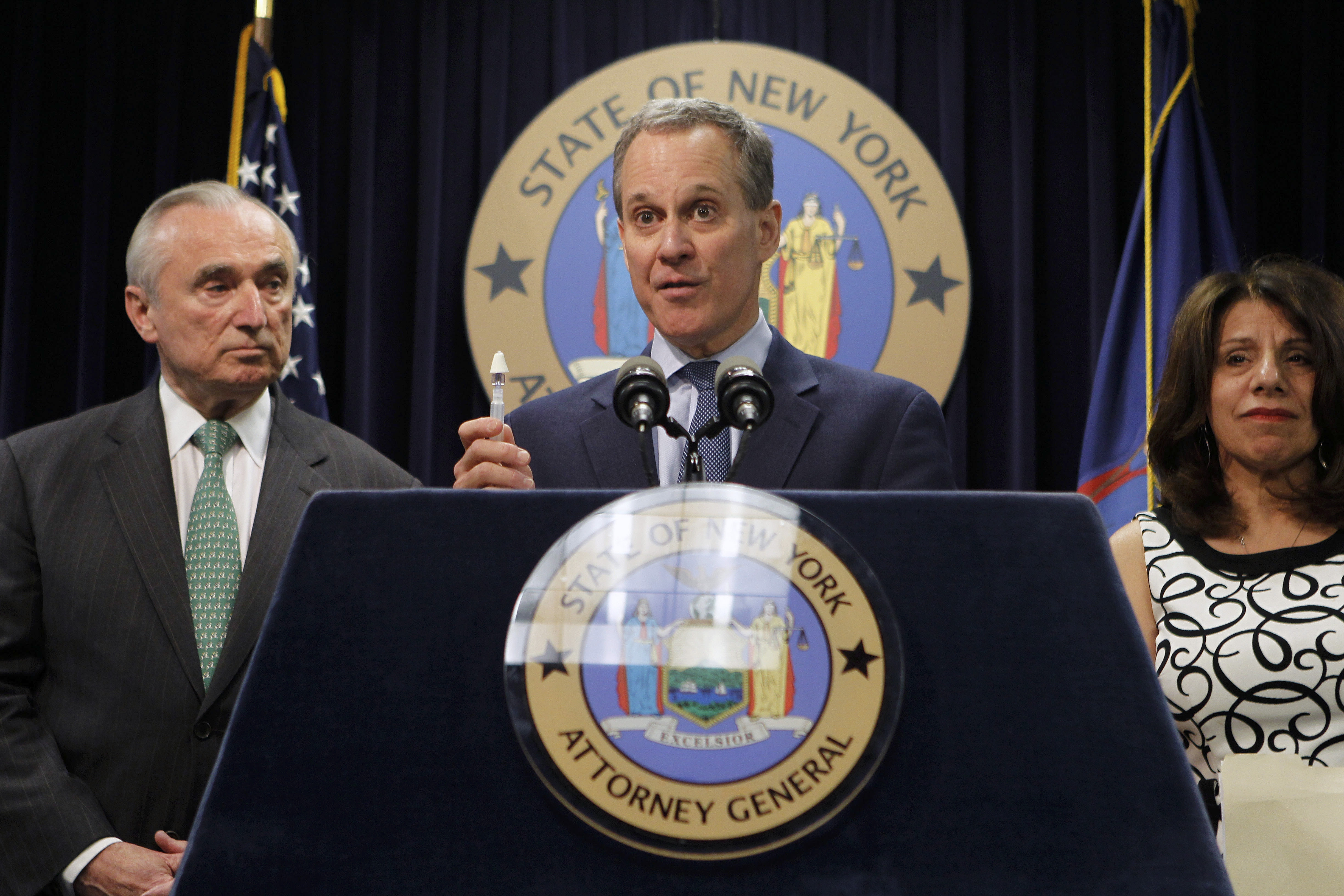 New York State Attorney General Eric Schneiderman partnered with other states on the settlement.