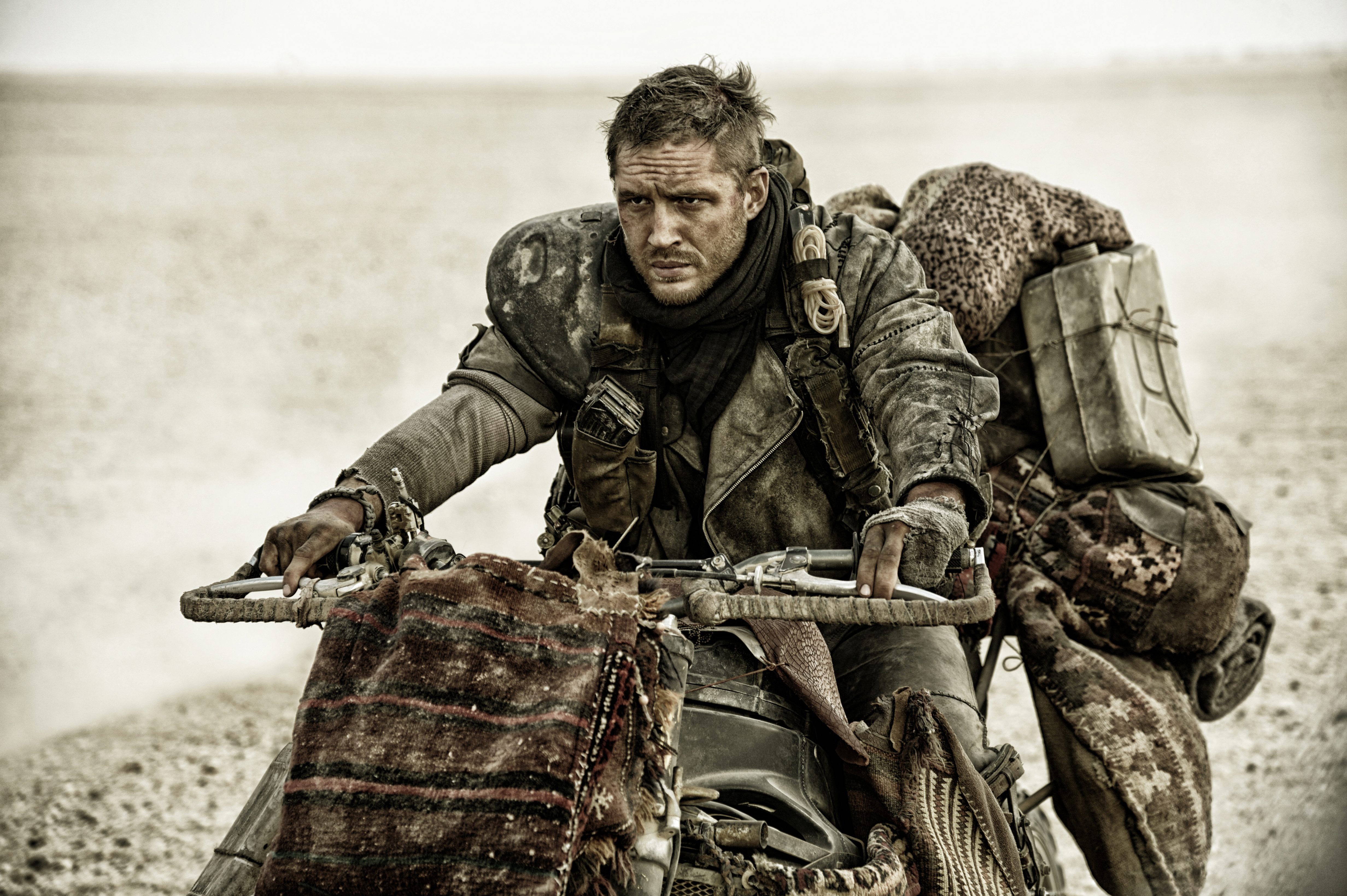 Tom Hardy takes on the Max role played by Mel Gibson in 'Mad Max: Fury Road.'
