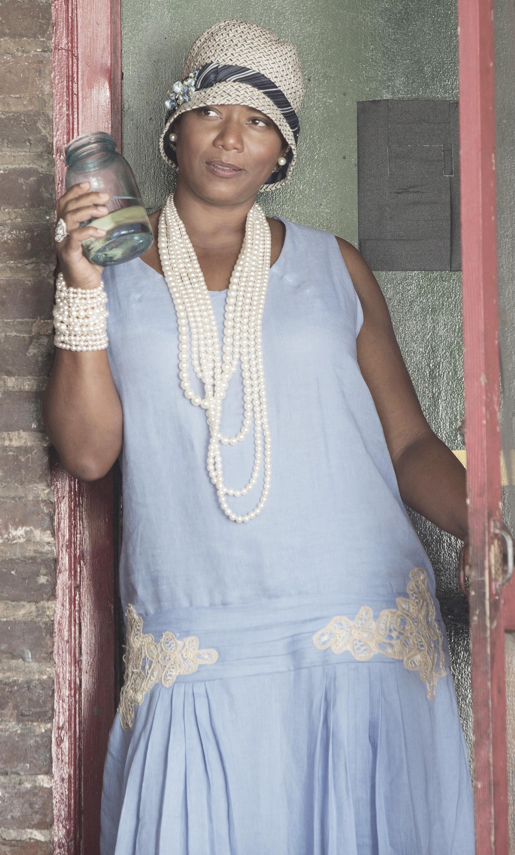 "Queen Latifah plays blues singer Bessie Smith in ""Bessie,"" premiering Saturday on HBO."