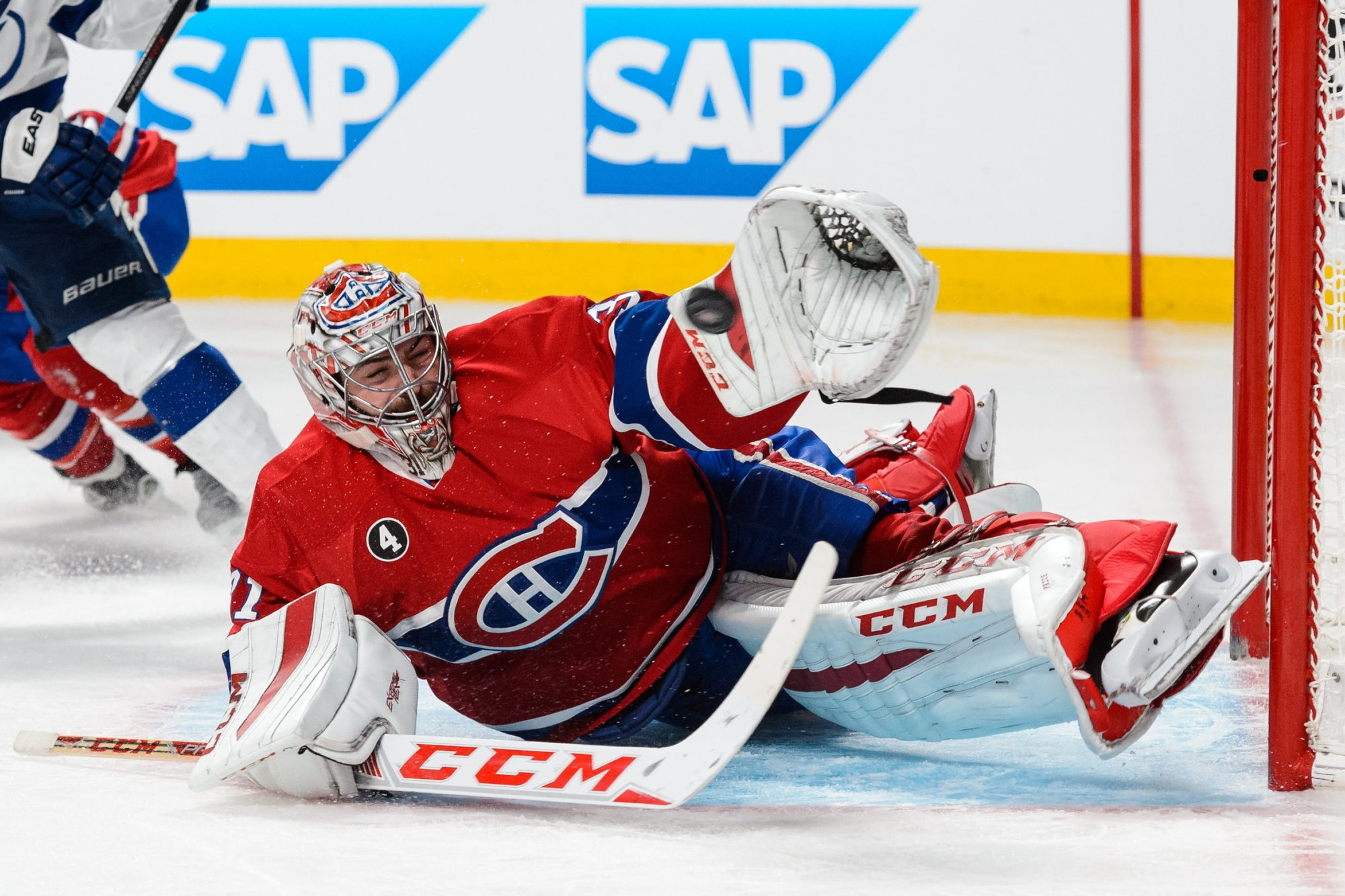 The outstanding play of goaltenders like Montreal's Carey Price has been one of the reasons goal scoring in the postseason is back on the decline.